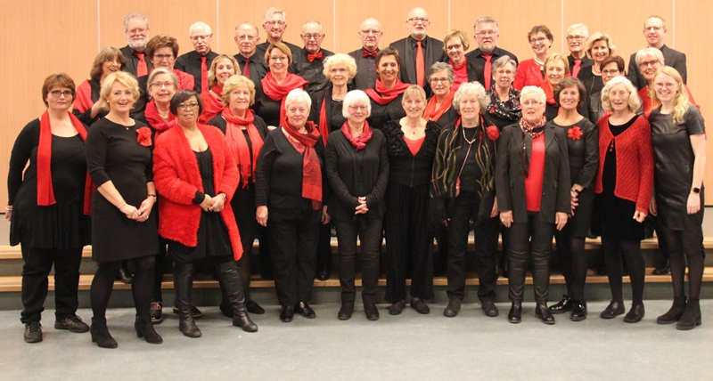 Foto Mixed Voices Vianen december 2018